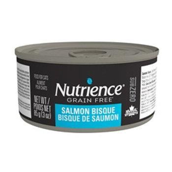 Nutrience Sans grain Sub Zero conserve en pâté bisque de saumon