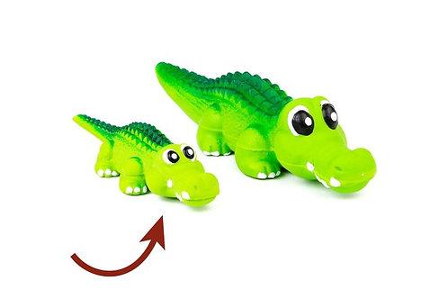 Jouet en forme d'alligator en latex Bud'z