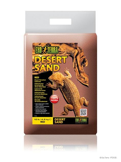 Sable substrat rouge désertique ExoTerra 4.5kg