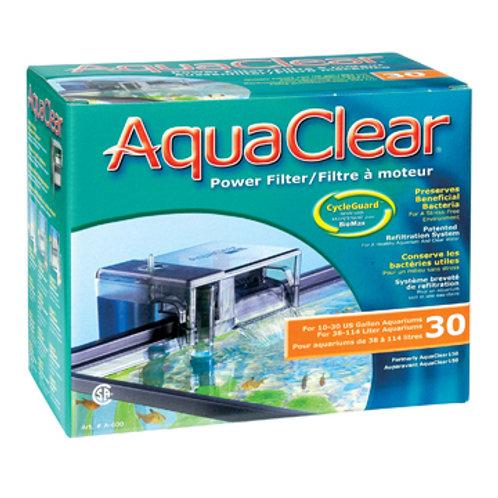 Filtreur AquaClear 30 (pour 10 à 30 gallons)