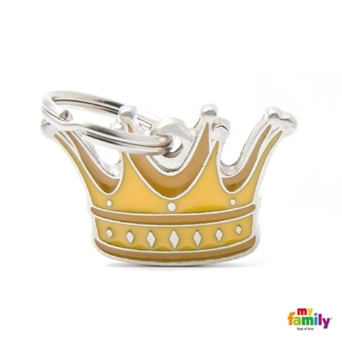 Médaille MyFamily Charms Couronne