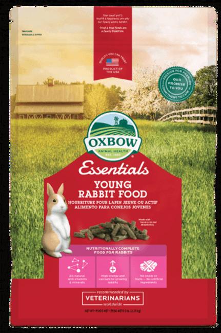 Nourriture jeunes lapins Essentials Oxbow