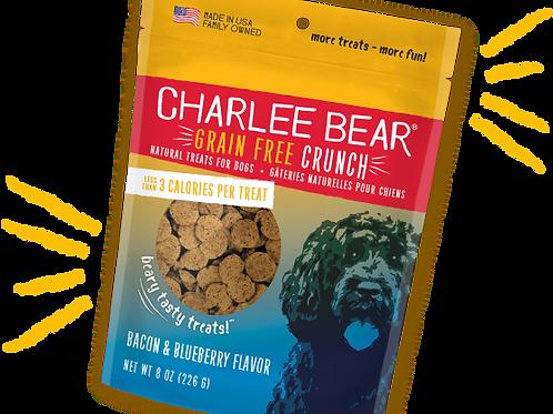 Gâteries Charlee Bear Crunch bacon et myrtille 226gr