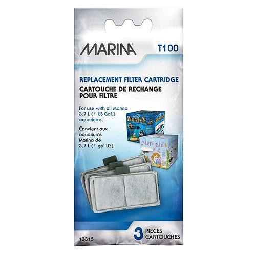 Cartouches de rechange pour filtreur T100 Marina 1gallon