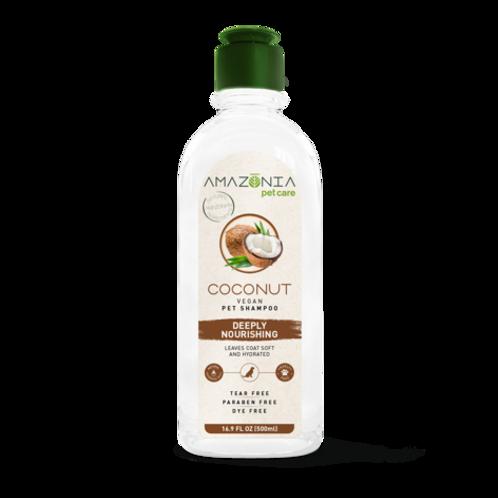 Shampooing végane nourrissant noix de coco Amazonia PetCare 500ml