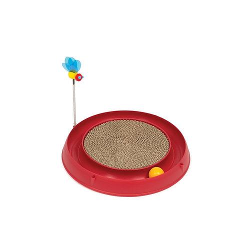 Circuit avec balle, jouet et planche à griffer CatIt Play