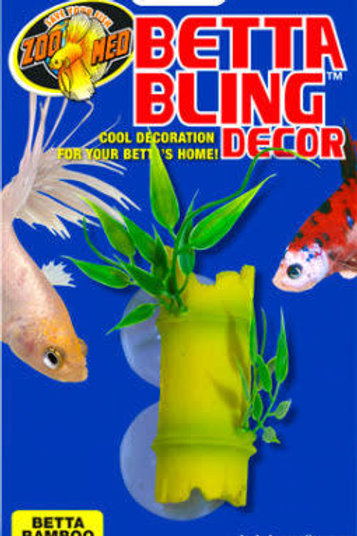 Bambou et feuilles Betta Bling Decor