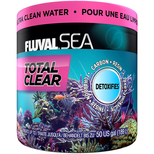 Détoxifiant Total Clear Fluval Sea 175gr