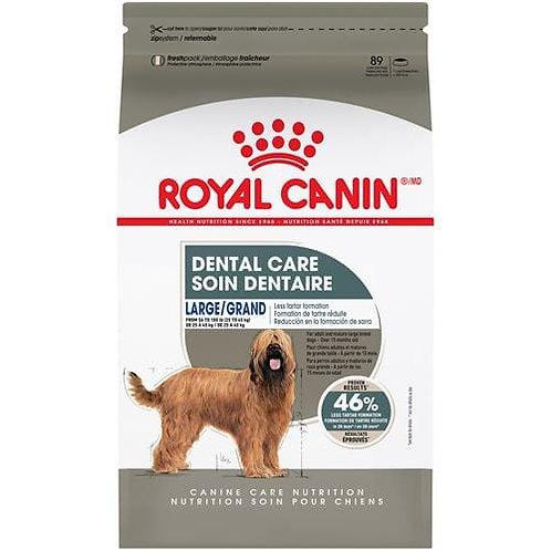 Nourriture Large dentaire adulte RoyalCanin 12.71kg