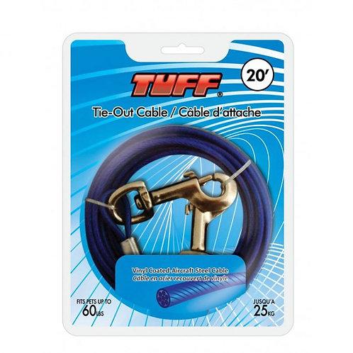 Câble d'attache bleu Tuff