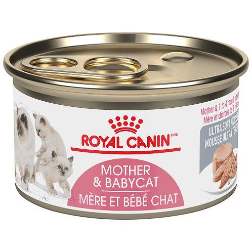 Canne de pâté au poulet mère et chaton Royal Canin