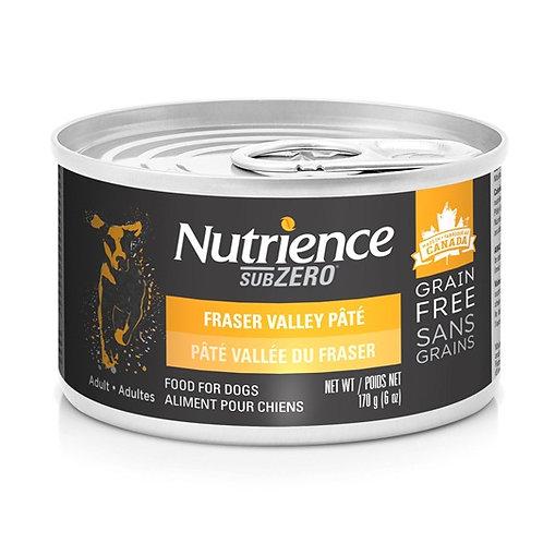 Nutrience Sans grain SubZero conserve en pâté poulet