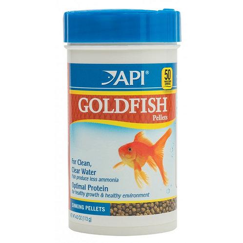 Granulés pour poissons rouges API 113gr