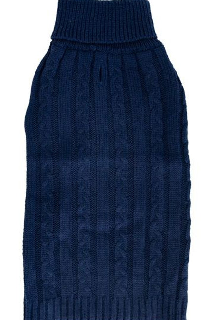Tricot en acrylique bleu marin Doggie-Q Sweater
