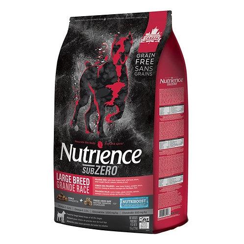 Nutrience Sans grain SubZero gibier des prairies grande race adulte