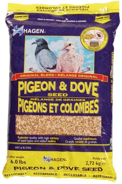 Mélange de graines pour pigeons/colombes Hagen 2.72kg