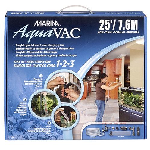 Système complet de nettoyeur de gravier et changeur d'eau AquaVac Marina