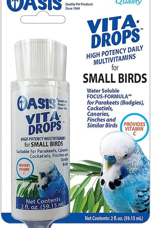Supplément liquide multi-vitamines Vita-Drops Oasis 59.15ml
