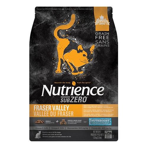 Nutrience Sans grain SubZero Vallée du Fraser