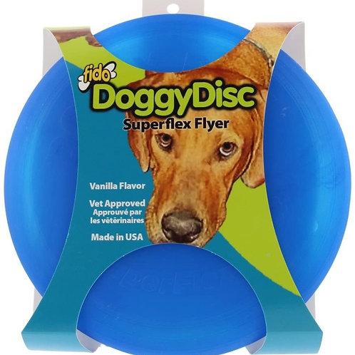 Disque volant bleu 6.5po DoggyDisc Fido
