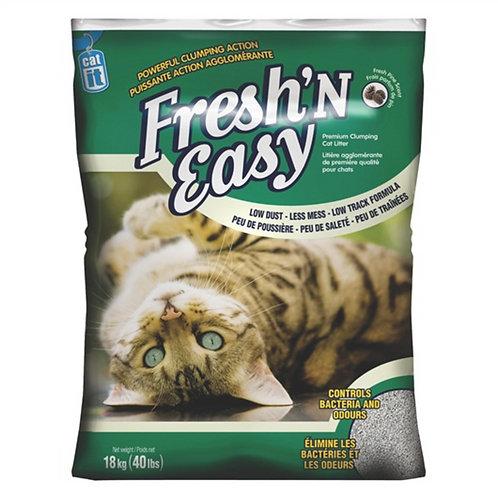 Litière Fresh 'N' Easy parfum de pin CatIt 18kg