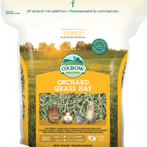 Foin Orchard Grass Hay Oxbow (jaune)