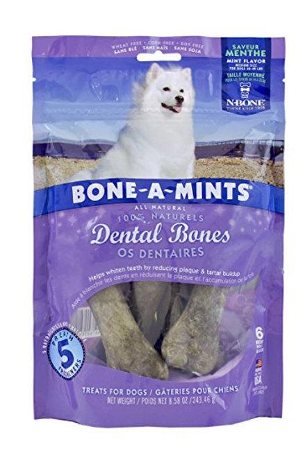 Gâteries dentaires menthe Bone-A-Mints