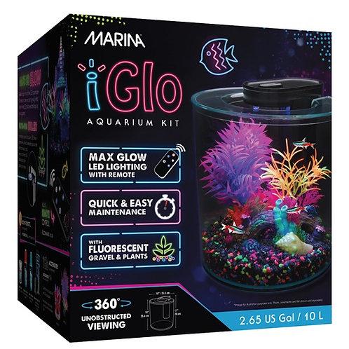 Aquarium équipé 360 iGlo Marina, 10 L (2,65 gal US)