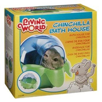 Cabine de bain pour chinchilla Living World