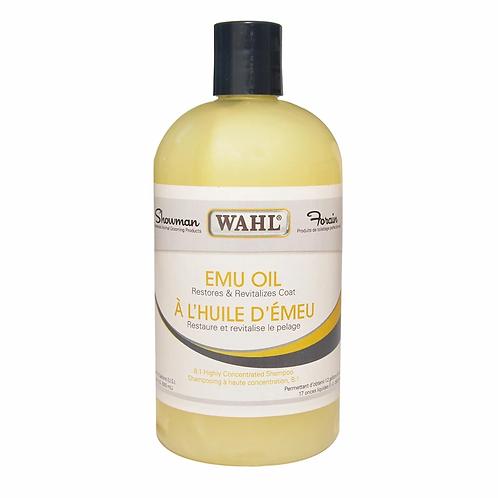 Shampooing à diluer huile d'émeu WAHL Showman 500ml