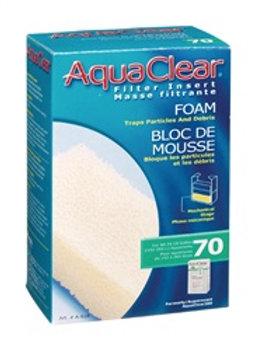 Variétés de masses filtrantes pour filtreur Aquaclear 70