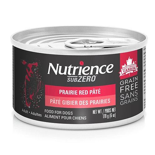 Nutrience Sans grain SubZero conserve en pâté gibier des prairies