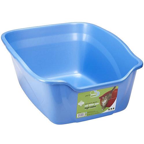 Bac à litière bleu Vanness grande