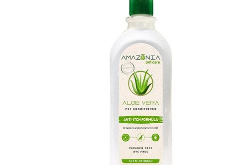 Revitalisant végane anti-démangeaisons Aloe Vera Amazonia PetCare 500ml