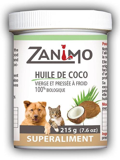 Super Aliment huile de coco bio Zanimo 230ml