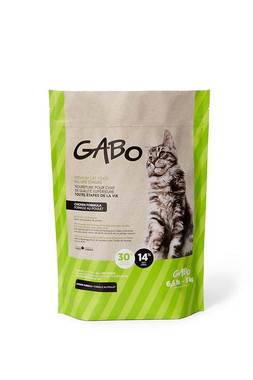 Gabo chat et chaton poulet