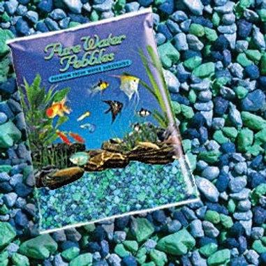 Gravier Pure Water Pebbles 11.4kg (couleurs variées)