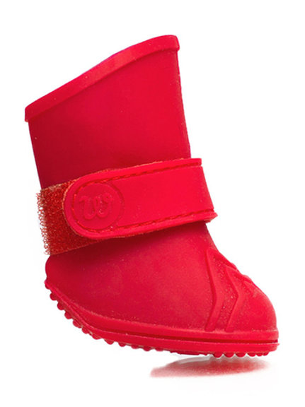 Bottes (4) Canada Pooch Weelies rouges XS
