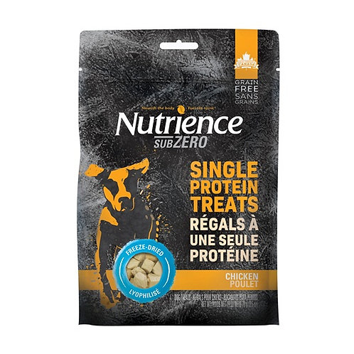 Régals séchés à froid au poulet (protéine unique) Nutrience SubZero 70gr