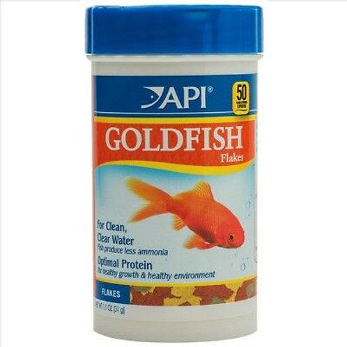 Flocons pour poissons rouges API 31gr