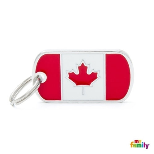 Médaille MyFamily Drapeau Canada