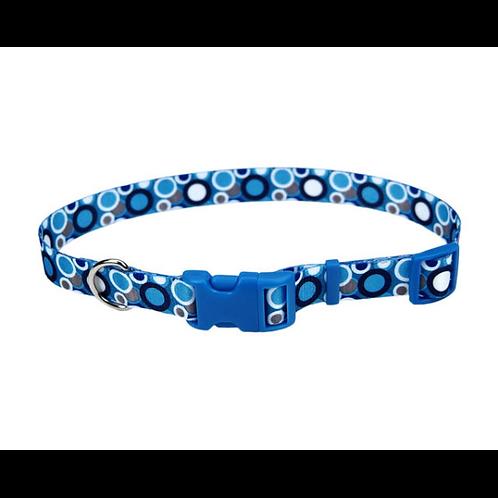 Collier cercles bleus WBB Coastal Styles