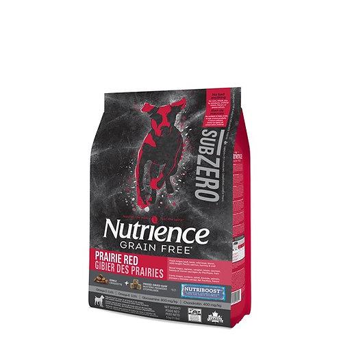 Nutrience Sans grain SubZero gibier des prairies toute race
