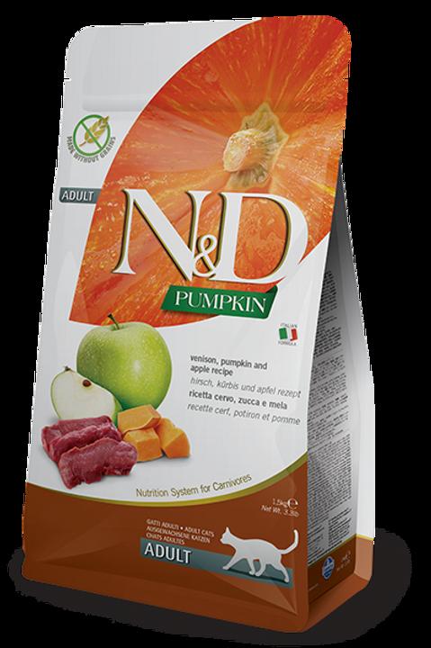 Farmina N&D cerf, potiron et pomme 1,5kg
