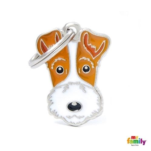 Médaille MyFamily Friends Fox terrier