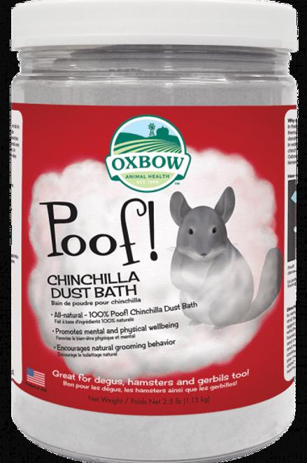 Bain de poussière pour chinchilla Poof! Oxbow 1.13kg