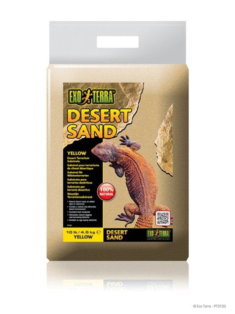 Sable substrat beige désertique ExoTerra 4.5kg