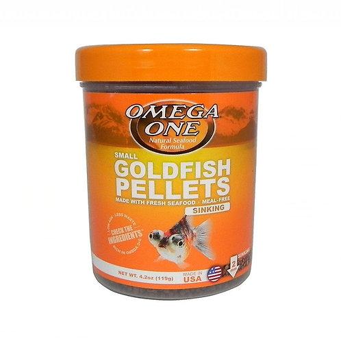 Granulés pour poissons rouges Omega One 119gr