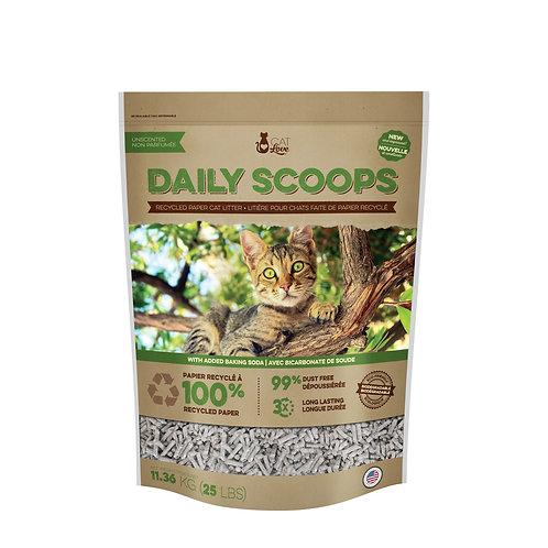 Litière de papier recyclé DailyScoop 11.36kg