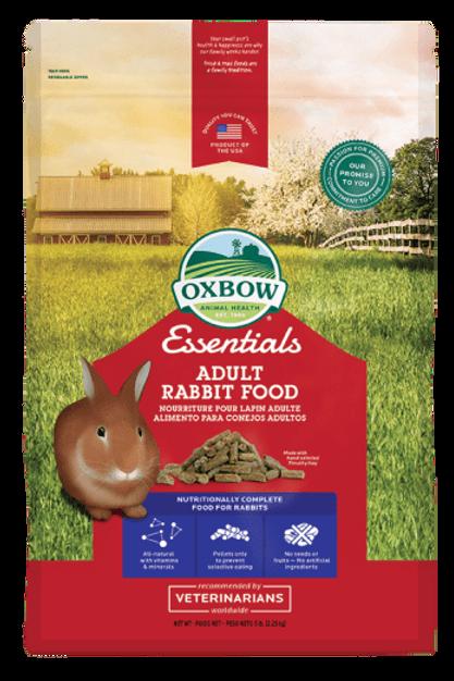 Nourriture lapin adulte Essentials Oxbow 2.25kg